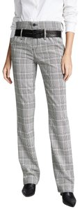 RtA Plaid Belted Trouser Pants