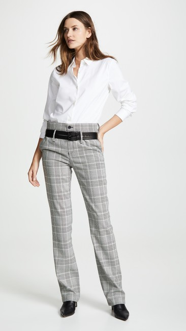 RtA Plaid Belted Trouser Pants Image 2