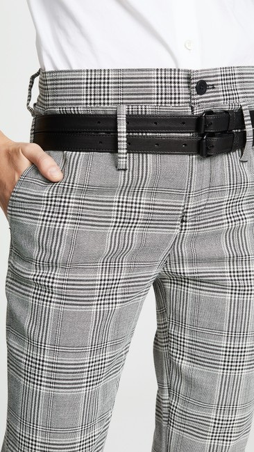 RtA Plaid Belted Trouser Pants Image 3