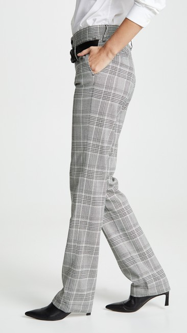 RtA Plaid Belted Trouser Pants Image 4