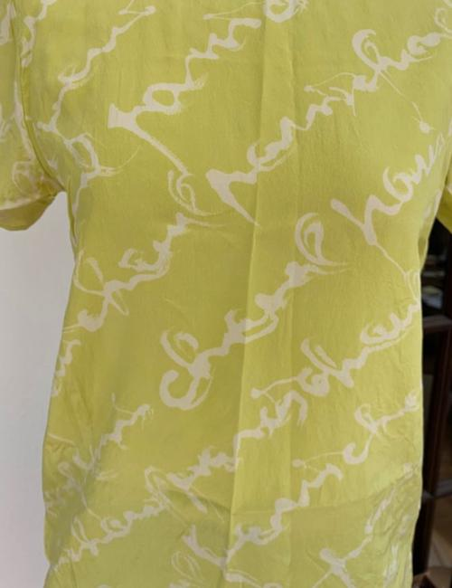 Chanel T Shirt lime green Image 1