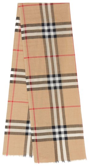 Burberry Giant Check Gauze Scarf Image 0