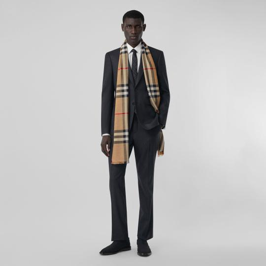 Burberry Giant Check Gauze Scarf Image 4