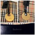 Burberry Plaid Shoulder Tote in Multi Image 9