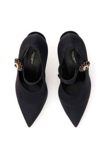 Dolce&Gabbana Cd1216 Az161 80999 Black Pumps Image 1