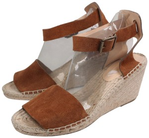 J.Crew Brown Wedges