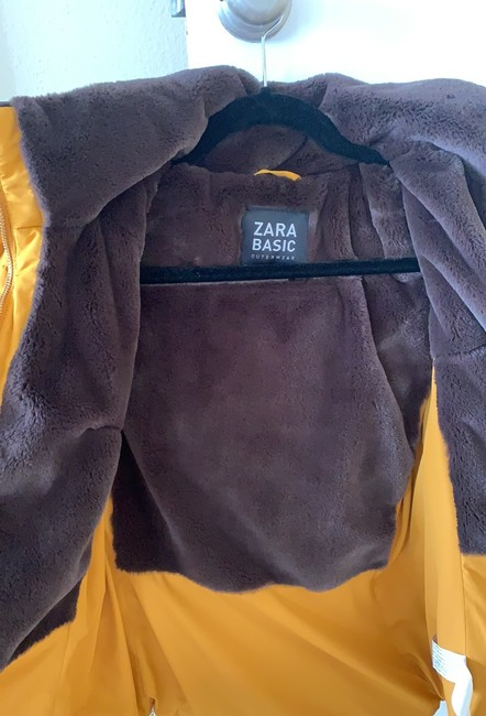 Zara Yellow/Brown Jacket Image 2