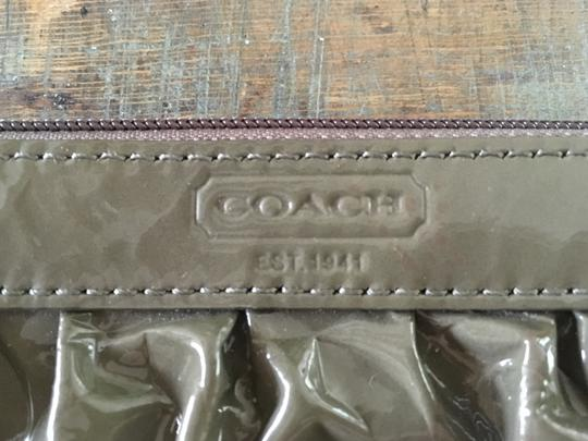Coach Wristlet in Olive Image 1