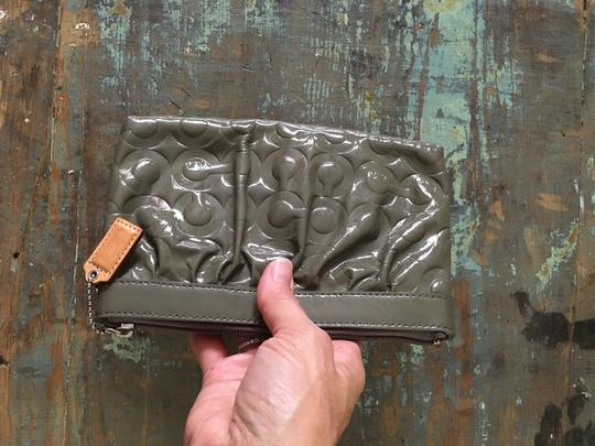 Coach Wristlet in Olive Image 4