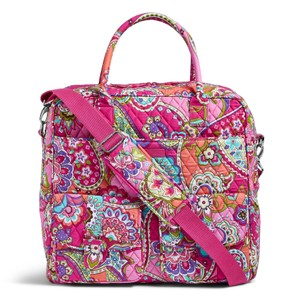 Vera Bradley Grand Cargo Tote in Pink Swirls