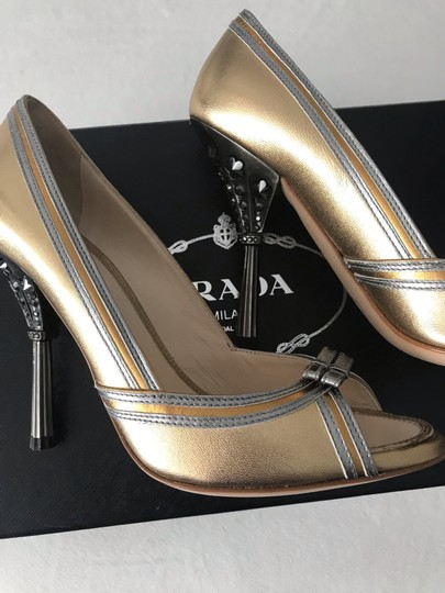 Prada gold with silver piping Formal Image 3