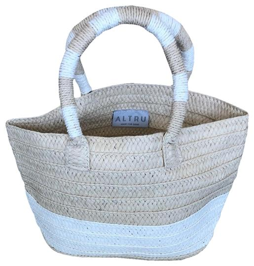 Preload https://img-static.tradesy.com/item/26031870/-and-ivory-weave-with-dust-beige-tote-0-2-540-540.jpg