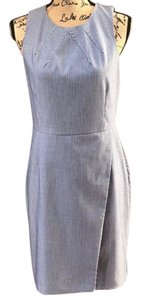 Banana Republic short dress white blue on Tradesy