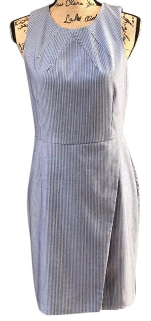 Preload https://img-static.tradesy.com/item/26031902/banana-republic-white-blue-sheath-mid-length-short-casual-dress-size-6-s-0-1-650-650.jpg