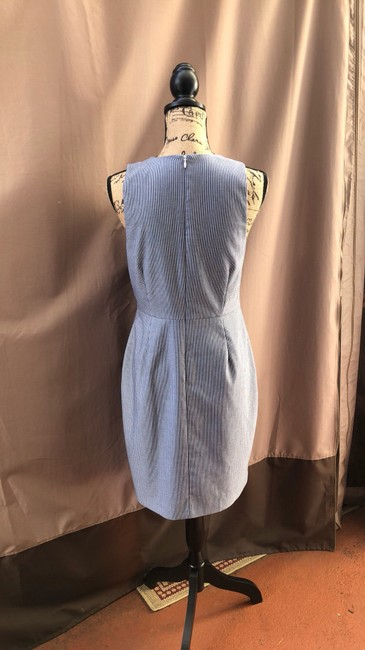 Banana Republic short dress white blue on Tradesy Image 1