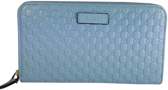Preload https://img-static.tradesy.com/item/26031911/gucci-blue-women-s-449391-leather-micro-gg-guccissima-zip-around-wallet-0-1-540-540.jpg