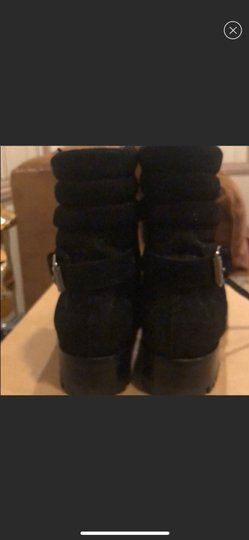 Christian Louboutin black with little sparkle Boots Image 5