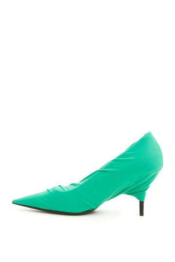 Balenciaga 549115 W1n80 3010 Green Pumps Image 2