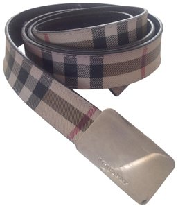 Burberry Plaid belt