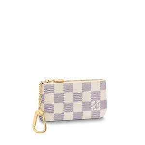 Louis Vuitton Brand New 2019 Louis Vuitton Damier Azur Key Pouch Coin Purse N62659