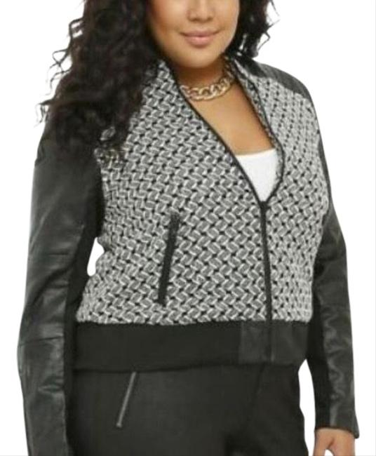 Torrid Black Multi Color Bomber Jacket Size 20 (Plus 1x) Torrid Black Multi Color Bomber Jacket Size 20 (Plus 1x) Image 1