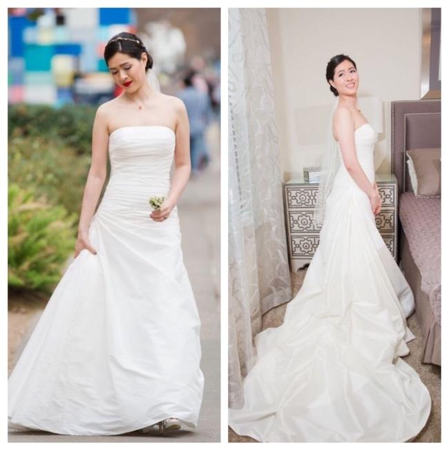 Item - Off White Silk Semilla Modern Wedding Dress Size 2 (XS)
