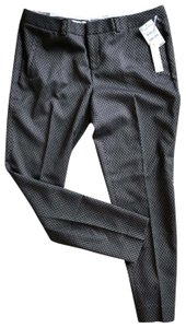 Chelsea28 Straight Pants Black and gray