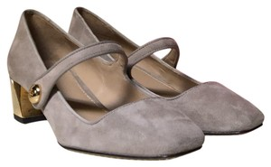Tory Burch Grey Pumps