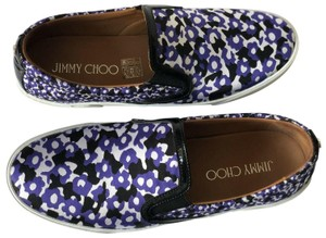 Jimmy Choo violet floral print Athletic