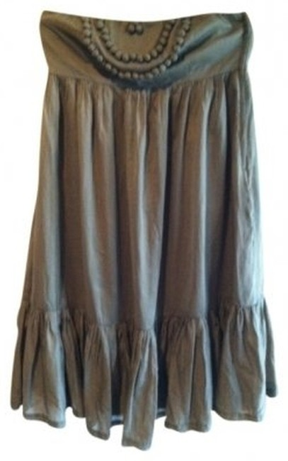 Gap short dress Brown on Tradesy