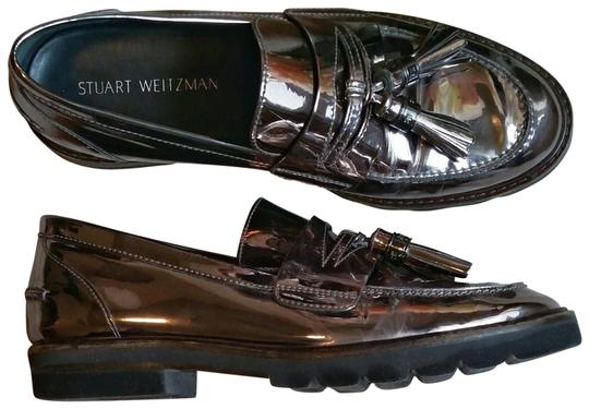 Preload https://img-static.tradesy.com/item/26033027/stuart-weitzman-metallic-irongraysilver-women-s-manila-slip-on-loafer-flats-size-us-105-narrow-aa-n-0-2-540-540.jpg
