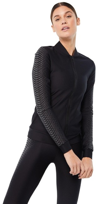 Item - Nero Graphite Gravity Boa Made To Order- Available Here Activewear Outerwear Size 6 (S)