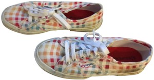 Superga Stylish Great Support Colorful White Laces Multi Athletic