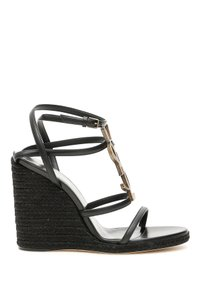 Saint Laurent 557208 0mutt Black Sandals