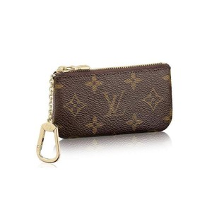 Louis Vuitton Brand New 2019 Louis Vuitton Monogram Key Pouch Coin Purse M62650