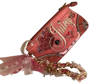 Juicy Couture Wristlet in pink blush