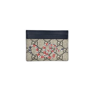 Gucci Kingsnake Supreme Card Holder