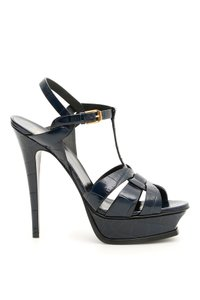 Saint Laurent 527533 D6e00 4327 Blue Sandals