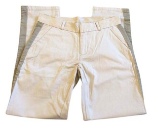 GARNET HILL Straight Pants BONE