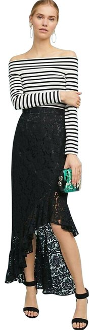 Anthropologie Black Eliza New Showstopper Lace By J Skirt Size 4 (S, 27) Anthropologie Black Eliza New Showstopper Lace By J Skirt Size 4 (S, 27) Image 1