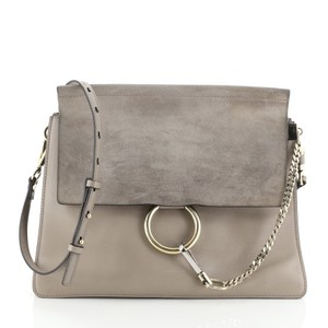 Chloé Faye Leather Shoulder Bag