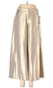 Lilly Pulitzer Margo Margo Super Flare Pants Gold Lame