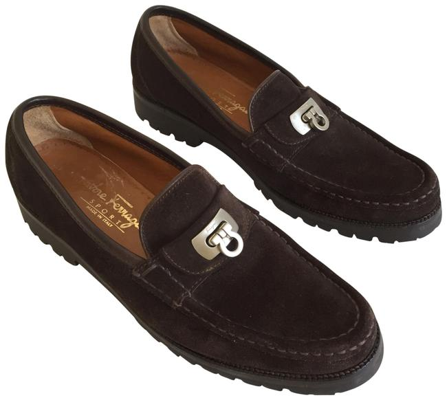 Item - Brown Loafers Flats Size US 7 Narrow (Aa, N)