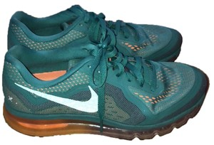 Nike light blue/teal with orange and pink sole Athletic