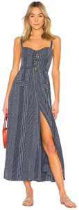 blue Maxi Dress by House of Harlow 1960