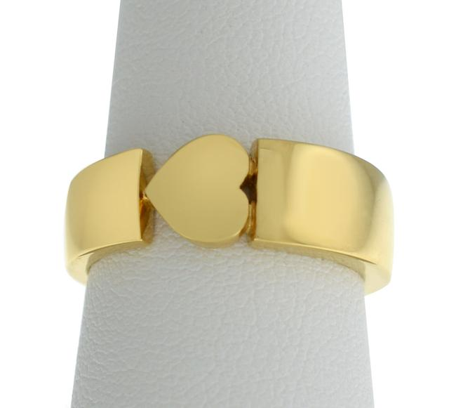 Item - Yellow Gold New 18k 9 Grams Size 53 6.5 Heart Ring