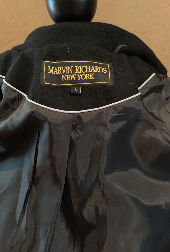 the sale of shoes for whole family cozy fresh Marvin Richards Belted Jacket Coat Size 12 (L) - Tradesy