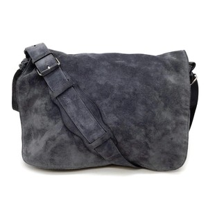 Balenciaga Slate Blue Messenger Bag