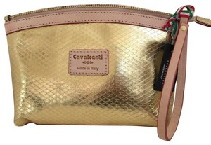 Cavalcanti Cosmetic Wristlet in Gold