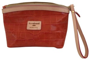 Cavalcanti Cosmetic Wristlet in Orange